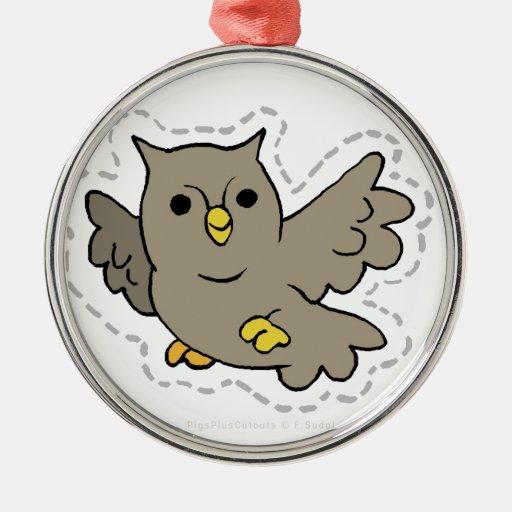 OWL.jpg Adorno Navideño Redondo De Metal