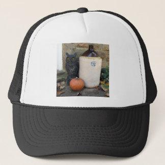 Owl, Jug and Pumpkin Trucker Hat