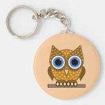 owl key chains