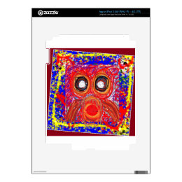 OWL Kids Art : Inspire your KIDS iPad 3 Skin
