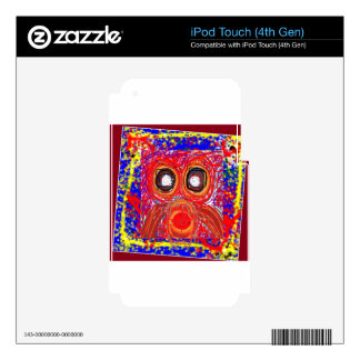 OWL Kids Art : Inspire your KIDS iPod Touch 4G Skin