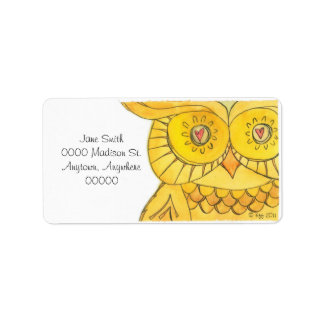 Owl - Labels