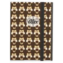Owl latte iPad air cases