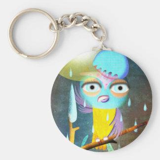Owl like raining Keychain