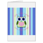 Owl ~ Live, Love, Laugh Greeting Card