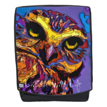Owl - Live the Wild Life / Backpack