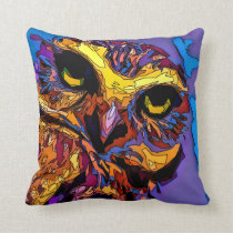 Owl - Live the Wild Life / Pillow