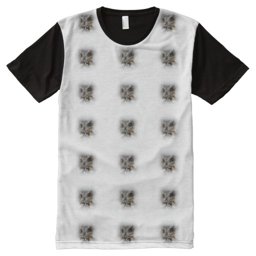 Owl Look Pattern All Over Print T Shirt Zazzle