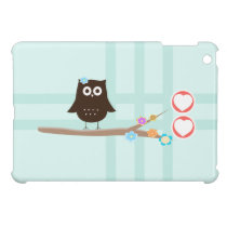 Owl Love Case For The iPad Mini