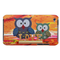 Owl love Case-Mate iPod touch case