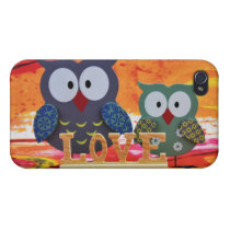 Owl love cases for iPhone 4