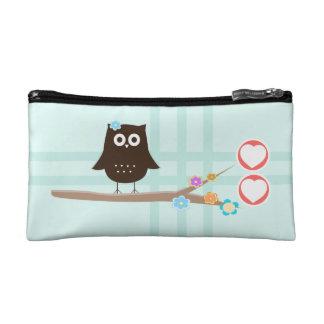 Owl Love {cosmetic bag} Cosmetics Bags