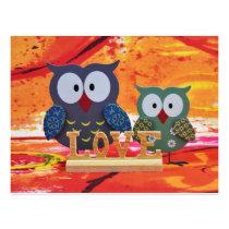 Owl love flyer