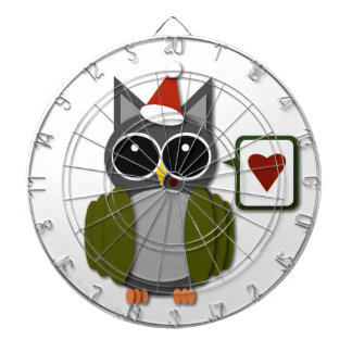 Owl Love for the Holidays! Dartboards
