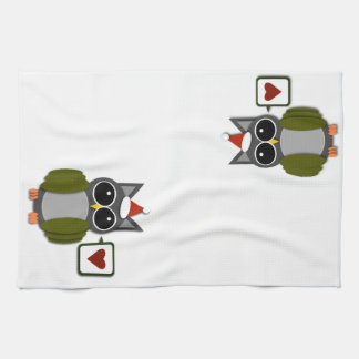 Owl Love for the Holidays! Kitchen Towel
