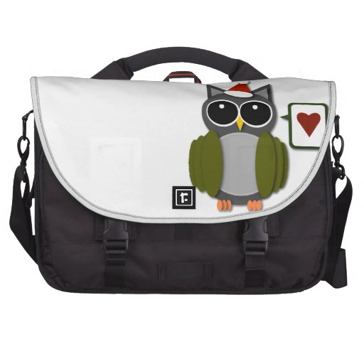 Owl Love for the Holidays! Laptop Bag