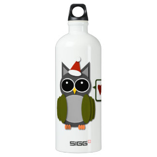 Owl Love for the Holidays! Water Bottle