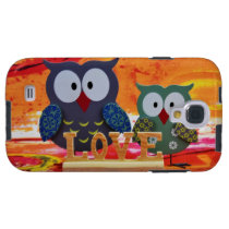 Owl love galaxy s4 case