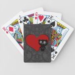 Owl Love III Bicycle Playing Cards