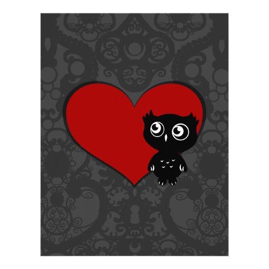 Owl Love III Letterhead
