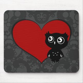 Owl Love III Mousepads