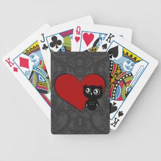 Owl Love III Bicycle Poker Deck