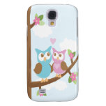 Owl Love iPhone 3G Case Samsung Galaxy S4 Covers