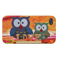 Owl love iPhone 4/4S covers