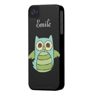 Owl Love iPhone 4 Case-Mate Cases