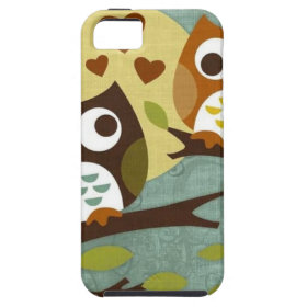 owl love iPhone 5 cover