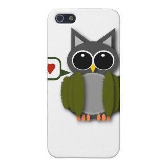 Owl Love iPhone Case