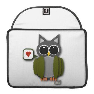 Owl Love Laptop Sleeve Sleeve For MacBooks
