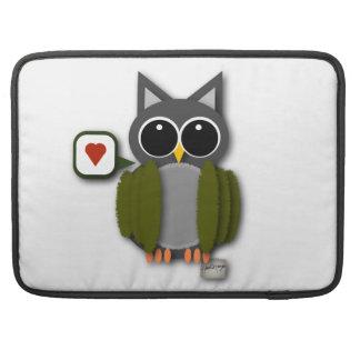 Owl Love Laptop Sleeve Sleeves For MacBooks
