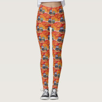 Owl love leggings