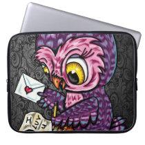 Owl Love Letter Computer Sleeve