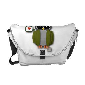 Owl Love Messenger Bag