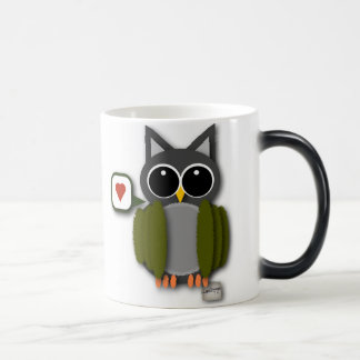 Owl Love Morphing Mug