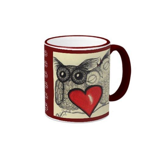 Owl Love-  Mug
