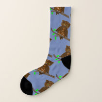 Owl Love Night Skies Socks