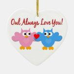 Owl Love Ornament