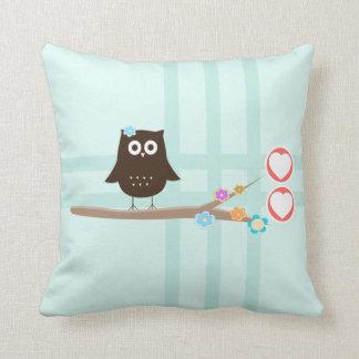 Owl Love {pillow} Pillows