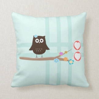 Owl Love {pillow} Throw Pillow