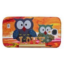 Owl love samsung galaxy s4 cover