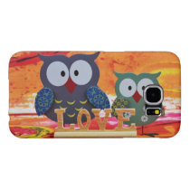 Owl love samsung galaxy s6 case