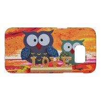 Owl love samsung galaxy s7 case