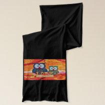 Owl love scarf