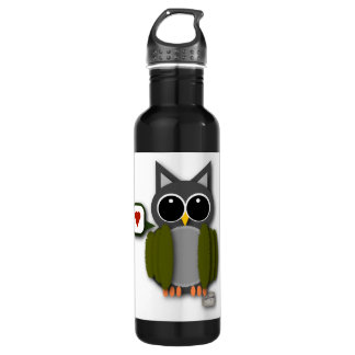 Owl Love Stainless Steel Water Bottle