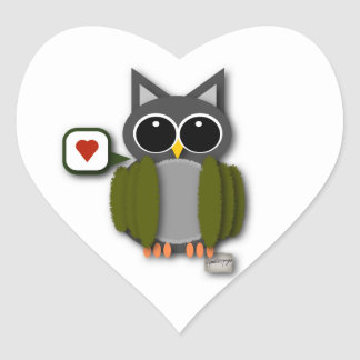 Owl Love Stickers