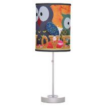 Owl love table lamp