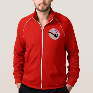Owl love thick with fat heart jacket